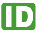Service Dog ID Cards | Plastic Service Dog ID Tag made by IDCreator.com