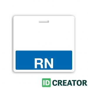 Blue RN Label Badge Buddy - 1350-2130